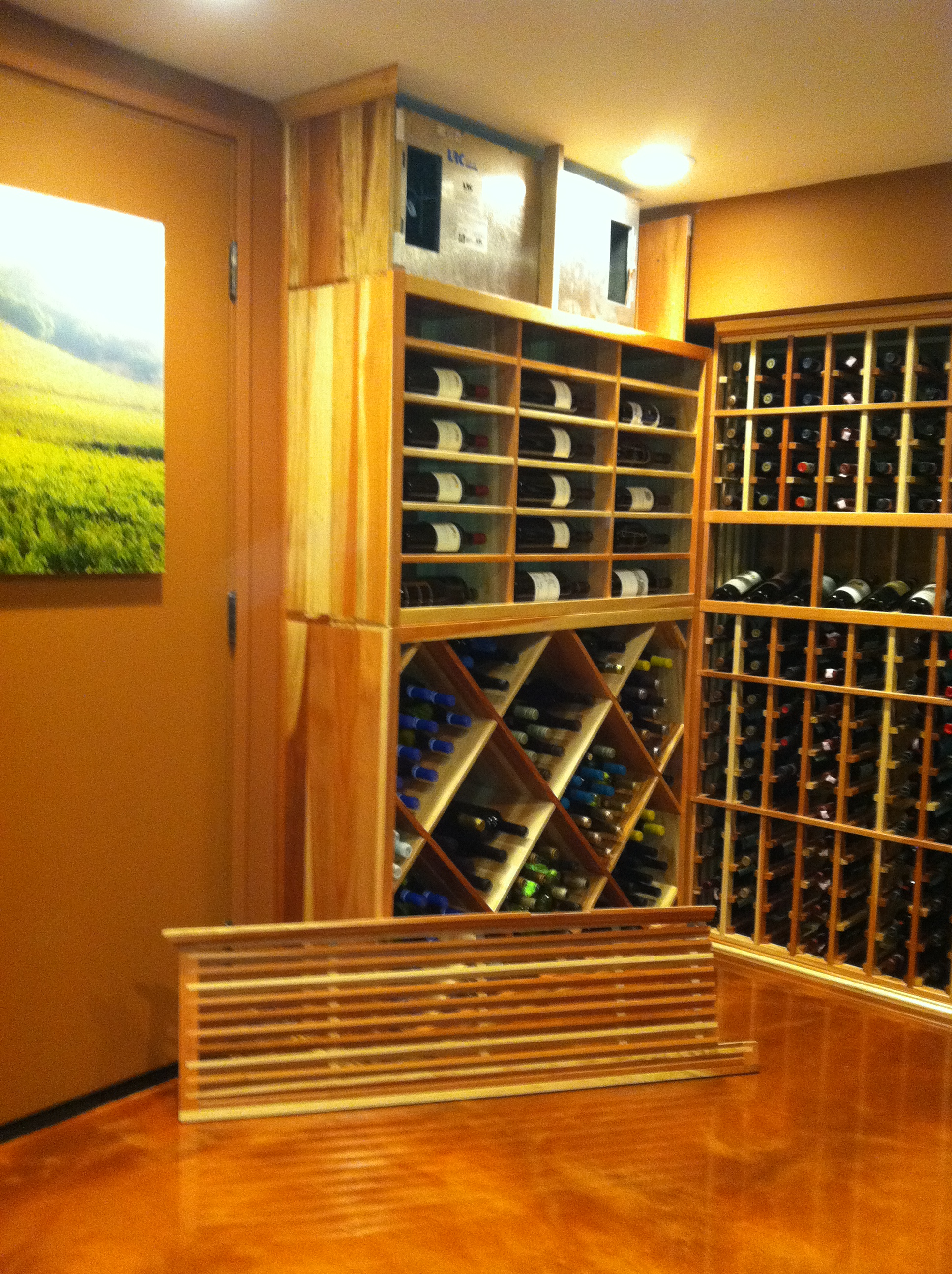 Wine Cellar Cooling Units Installed By Coastal Santa Monica Wine