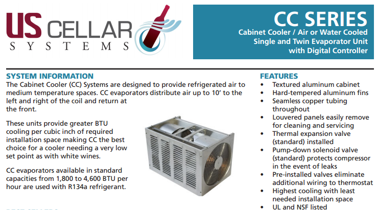 Click here to read the features of this Refrigeration Unit