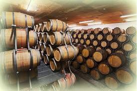 Wine Storage in Oak Wine Barrels