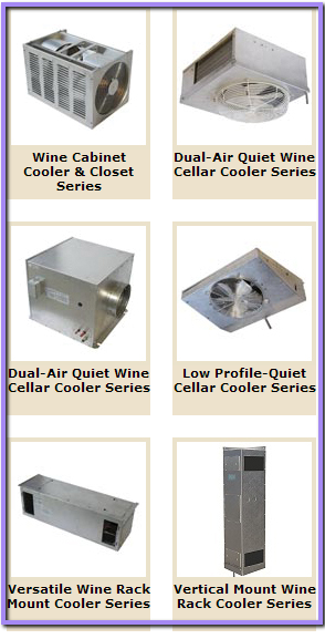 Different Types of Wine Cooling Units for Hospitality Wine Storage