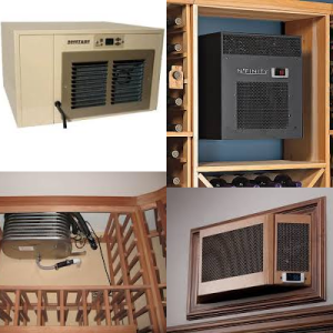 Different Types of Wine Cellar Cooling Units
