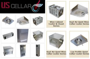 US Cellar Systems - Manufacturer of Quality Wine Cellar Cooing Units